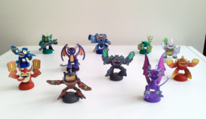 Skylanders conjunto