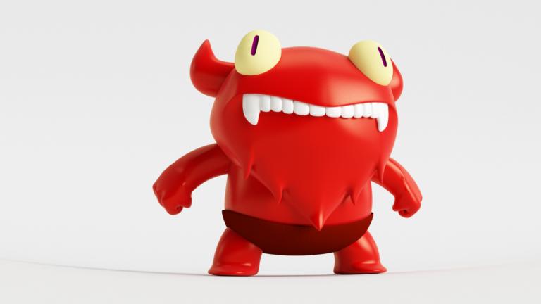 Demonio_3D_VRay_Rojo_8